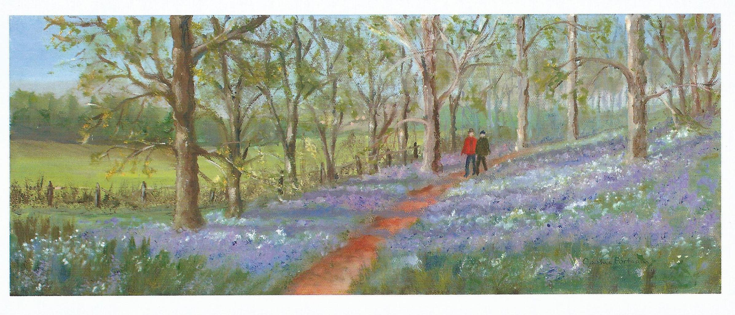RCHSCards-Bluebell Walk